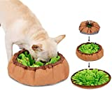 inRobert Schnüffelteppich für Hunde Schnüffelrasen Intelligenzspielzeug Schnüffelteppich Puzzle Spielzeug Haustier Matte Teppich für Hund Schnüffeldecke