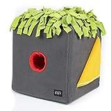 KNAUDER'S BEST Sniffbox Schnüffelteppich für Hunde groß Intelligenzspielzeug Suchspiel Anti Schling Napf langlebig waschbar und trocknergeeignet