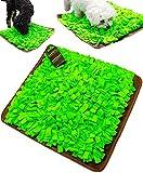 funPETic Schnüffelteppich Handgefertigt 45 x 50 cm – verhindert Schlingen, Schnüffeldecke fördert natürliche Nahrungssuche und artgerechte Auslastung, Intelligenz-Spielzeug für Hunde und Katzen
